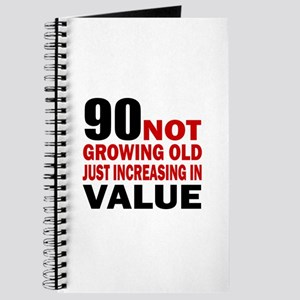 90 Not Growing Old Journal