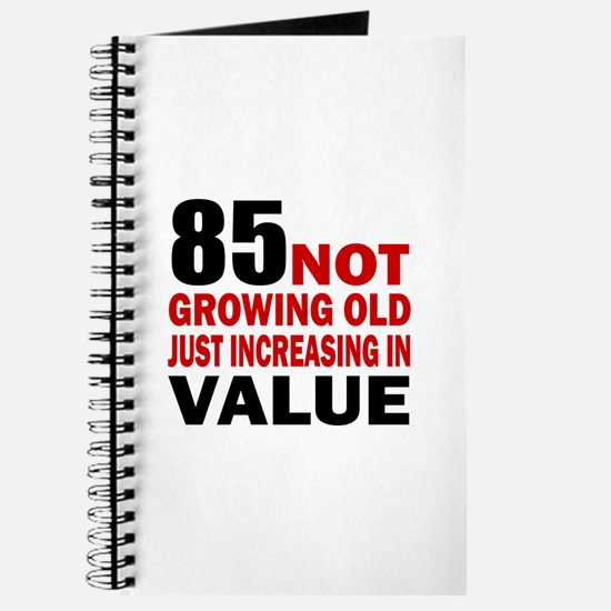 85 Not Growing Old Journal