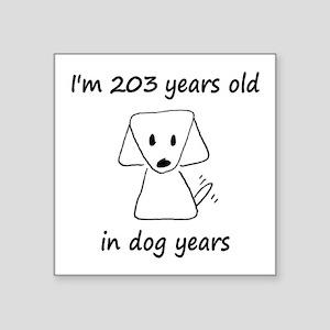29 Dog Years 6-2 Sticker