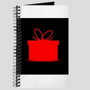 Present In A Red Box Journal
