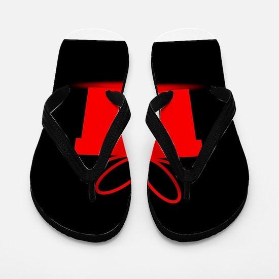 Present In A Red Box Flip Flops