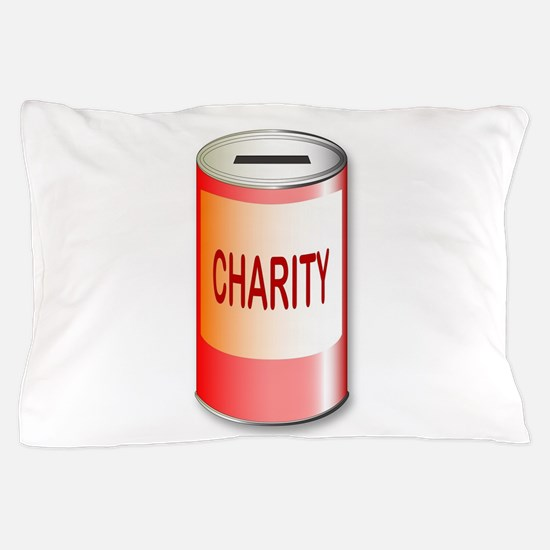 Round Charity Tin Pillow Case