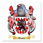 Wouter Square Car Magnet 3