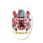 Wouter 20x12 Oval Wall Decal