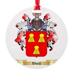 Woull Round Ornament