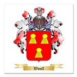 Woull Square Car Magnet 3