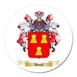 Woull Round Car Magnet