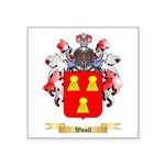 Woull Square Sticker 3