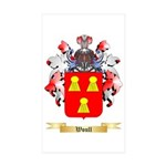 Woull Sticker (Rectangle 50 pk)
