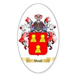 Woull Sticker (Oval 50 pk)