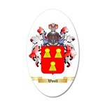 Woull 20x12 Oval Wall Decal