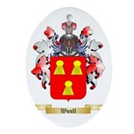 Woull Oval Ornament