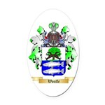 Woulfe Oval Car Magnet