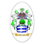 Woulfe Sticker (Oval 50 pk)