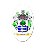 Woulfe 20x12 Oval Wall Decal