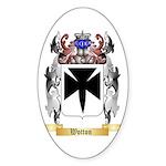 Wotton Sticker (Oval 50 pk)