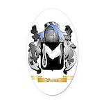Worton Oval Car Magnet