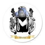 Worton Round Car Magnet