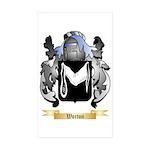 Worton Sticker (Rectangle 50 pk)