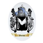 Worton Oval Ornament