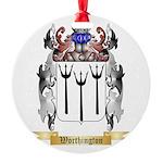 Worthington Round Ornament