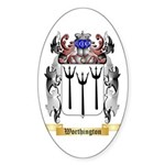 Worthington Sticker (Oval 10 pk)