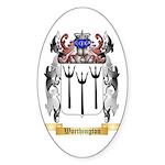 Worthington Sticker (Oval 50 pk)