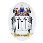 Worthington Oval Ornament