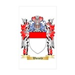 Worsely Sticker (Rectangle 50 pk)