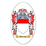 Worsely Sticker (Oval 50 pk)
