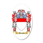 Worsely 35x21 Oval Wall Decal