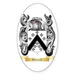 Worrill Sticker (Oval 50 pk)