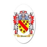 Worner 20x12 Oval Wall Decal