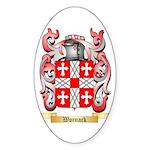 Wornack Sticker (Oval 50 pk)
