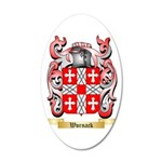 Wornack 35x21 Oval Wall Decal