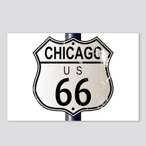 Chicago Route 66 Highway Postcards (Package of 8)