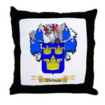 Wordman Throw Pillow