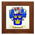 Wordman Framed Tile