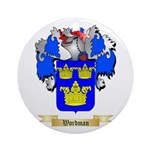 Wordman Round Ornament