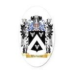 Worboyse Oval Car Magnet