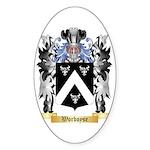 Worboyse Sticker (Oval 50 pk)