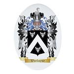 Worboyse Oval Ornament