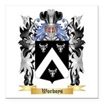 Worboys Square Car Magnet 3
