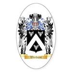 Worboys Sticker (Oval 50 pk)