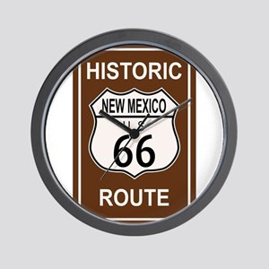 New Mexico Historic Route 66 Wall Clock
