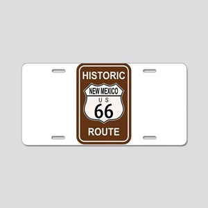 New Mexico Historic Route 6 Aluminum License Plate