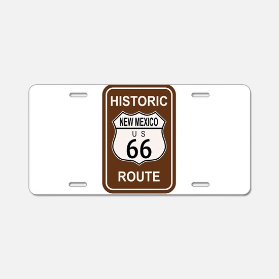 New Mexico Historic Route 6 Aluminum License Plate