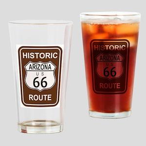 Arizona Historic Route 66 Drinking Glass