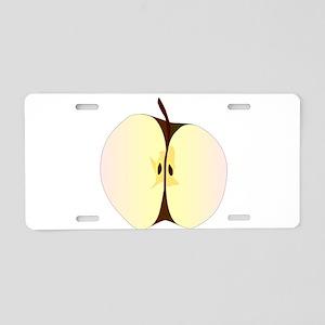 Cut Apple Aluminum License Plate