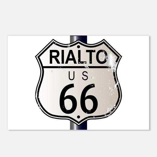 Rialto Route 66 Sign Postcards (Package of 8)